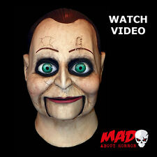 Official Dead Silence Billy Puppet Latex Mask HALLOWEEN Horror Costume Scary