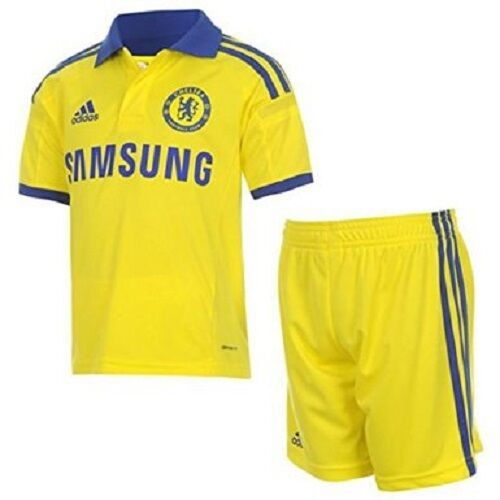adidas Chelsea Away Kit 2014 2015 Kids SIZE 23yrs