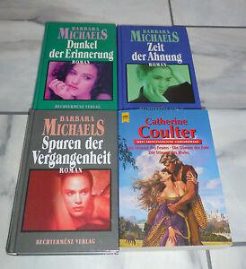 Catherine-Coulter-Barbara-Michaels-Liebes-Romane-7-4-Buecher-wie-neu