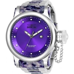 Invicta-23819-Russian-Diver-Purple-Quartz-Remix-Stainless-Steel-Mens-Watch