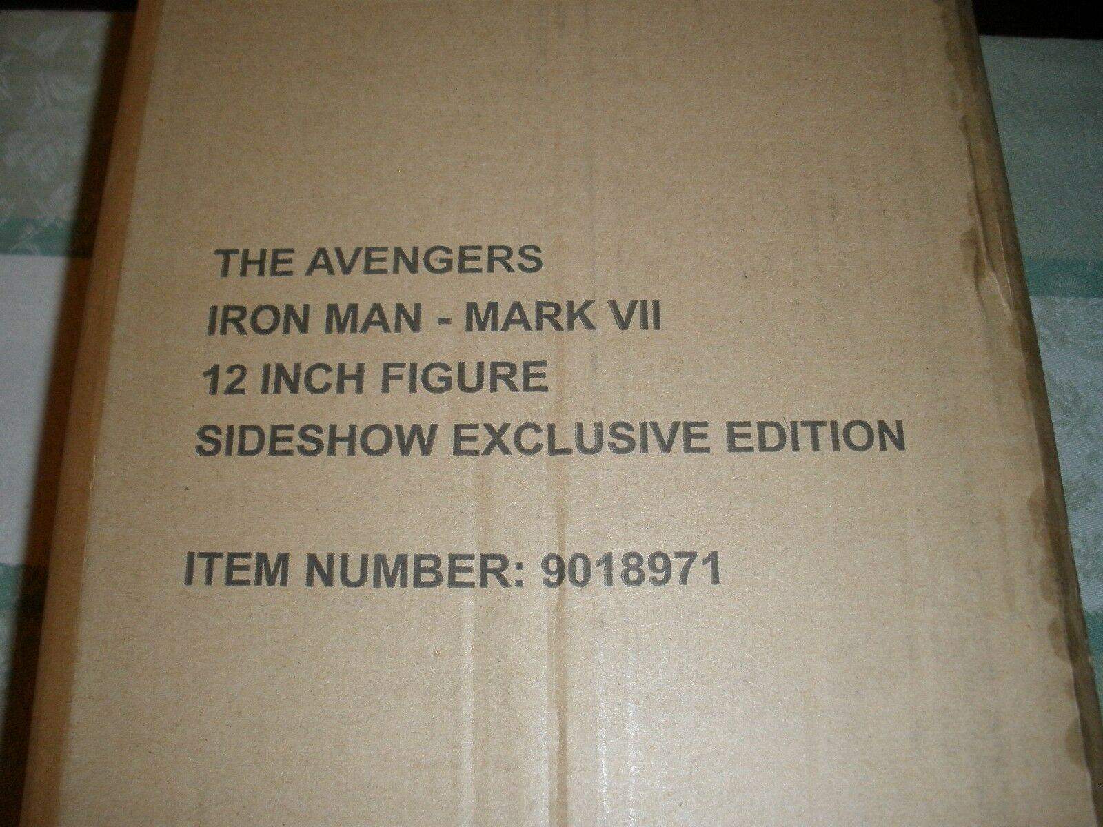 HOT TOYS Sideshow exclusive  Iron Man Mark VII VII VII AVENGERS 12  1 6 scale 9f3908