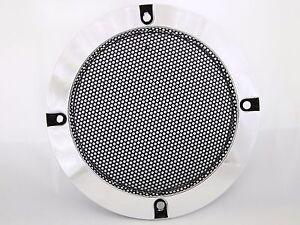 grille haut parleur chrome 125mm bornes d 39 arcade et bartop ebay. Black Bedroom Furniture Sets. Home Design Ideas
