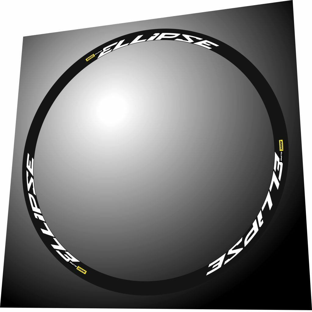 MAVIC ELLIPSE WHITE REPLACEMENT RIM DECAL SET FOR 2  RIMS  outlet online
