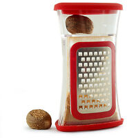 Norpro 385 Stainless Steel Deluxe Nutmeg Ginger Garlic Citrus Chocolate Grater on sale