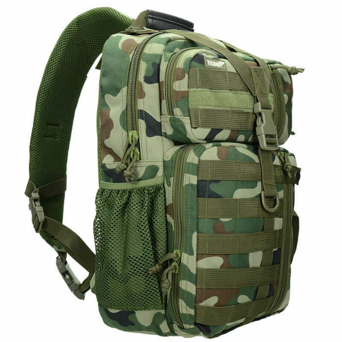 Texar Shoulder Bag Military Style Outdoor OSB 22L MOLLE PL Camo