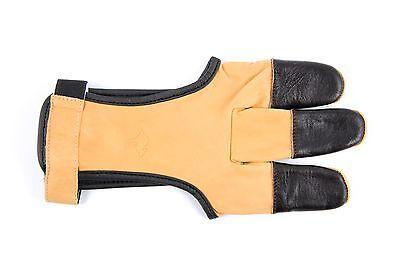 Schießhandschuh Bearpaw Top Glove für Bogen Bogensport aus Känguru-Leder