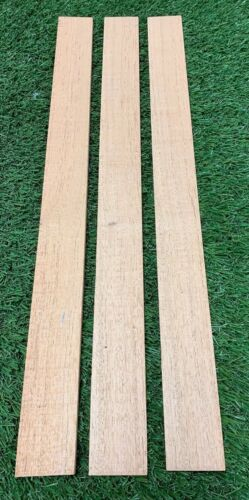 "LOT OF 3 BEAUTIFUL SPANISH RED CEDAR WOOD THIN STOCK LUMBER 1//4/"" X 2/"" X 12/"""