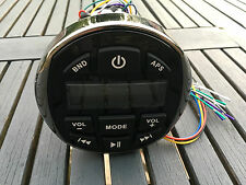 AUTORADIO MARIN ETANCHE USB/MP3/BLUETOOTH CHROMÉ