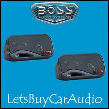 BOSS AUDIO AVA6200 3-WAY BOX CAR / MOTORHOME / CARAVAN SHELF SPEAKERS