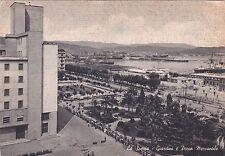 LA SPEZIA - Giardini e Porto Mercantile 1953
