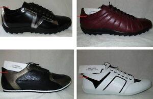 Zapatillas Zapatos Tablero' De Versace Piel Blanco Bronce