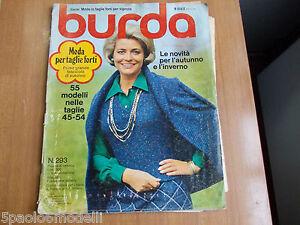 Caricamento dell immagine in corso BURDA-MODA-PER-TAGLIE-FORTI-1974-N-293 dcd7d2c7f4a