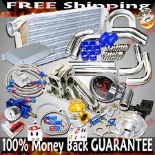 Turbo Kits T3/T4 Turbo for Mitsubishi EVO 8/Eclipse /DSM 1G 2G 4G63 Engine ONLY
