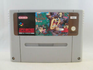 Super Nintendo SNES - Taz Mania