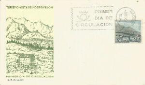 FDC-Sobre-Primer-dia-Espana-edifil-1649-Mogroviejo-Santander-1965