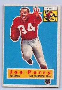 1956-JOE-PERRY-Topps-Football-Card-110-SAN-FRANCISCO-49ers