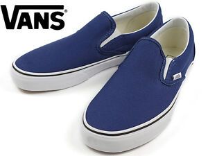 112a38405ae4 VANS CLASSIC SLIP-ON UNISEX Shoes (Twlight Blue White) BRAND NEW in ...