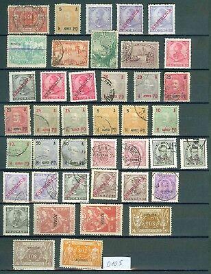 (0105a) Portugal-azoren Gebraucht Und Ungebraucht Von 1890 Bis 1945