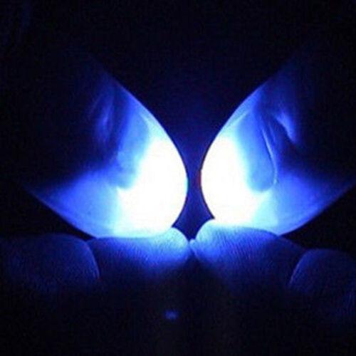 1pair Super Bright Finger Lights Close Up Thumbs Fingers Trick Magic Light Chic