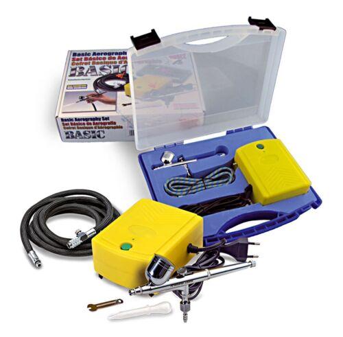 Kit de compresseur avec aérographe de double action Artisanat Latina 27092