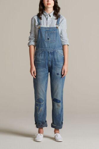 Dungarees Levi's Vintage Usa Distressed Lvc New W28 Clothing Bib Brace Overalls rXrwxOq