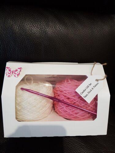 Crochet Gift Set Birthday present  kit in gift box Easter gift