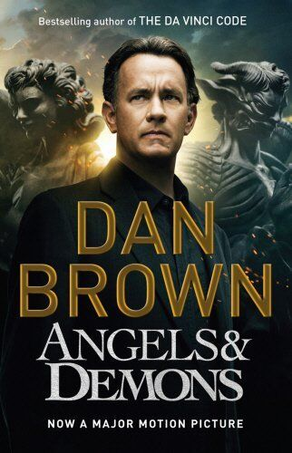 1 of 1 - DAN BROWN __ ANGELS AND DEMONS ___  (FILM TIE-IN) ___ BRAND NEW __ FREEPOST UK