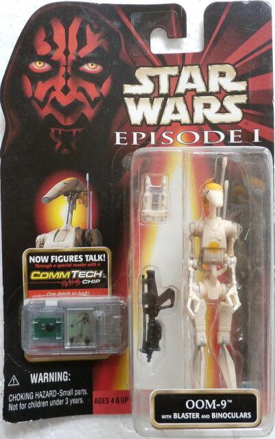 Star Wars Episode 1 OOM-9 (Hasbro, 1998) New on Card