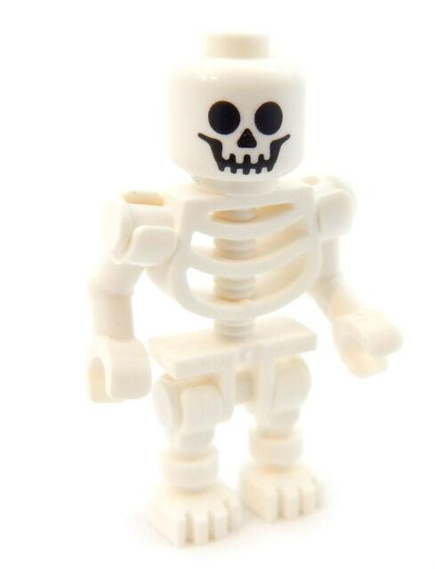 LEGO SKELETON LOT OF 5 CASTLE HALLOWEEN MINIFIGURE MINIFIGS PIRATE MEN ARMY