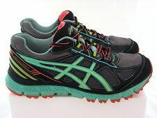 Women's ASICS T3G8Q Gel-Scram 2 Running Shoes, SIZE US 7.5, Sea Green/ Black