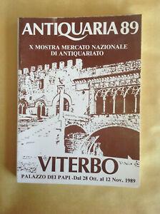 E-ANTIQUARIA-89-X-Mostra-Mercato-Nazionale-di-Antiquariato-VITERBO-1989