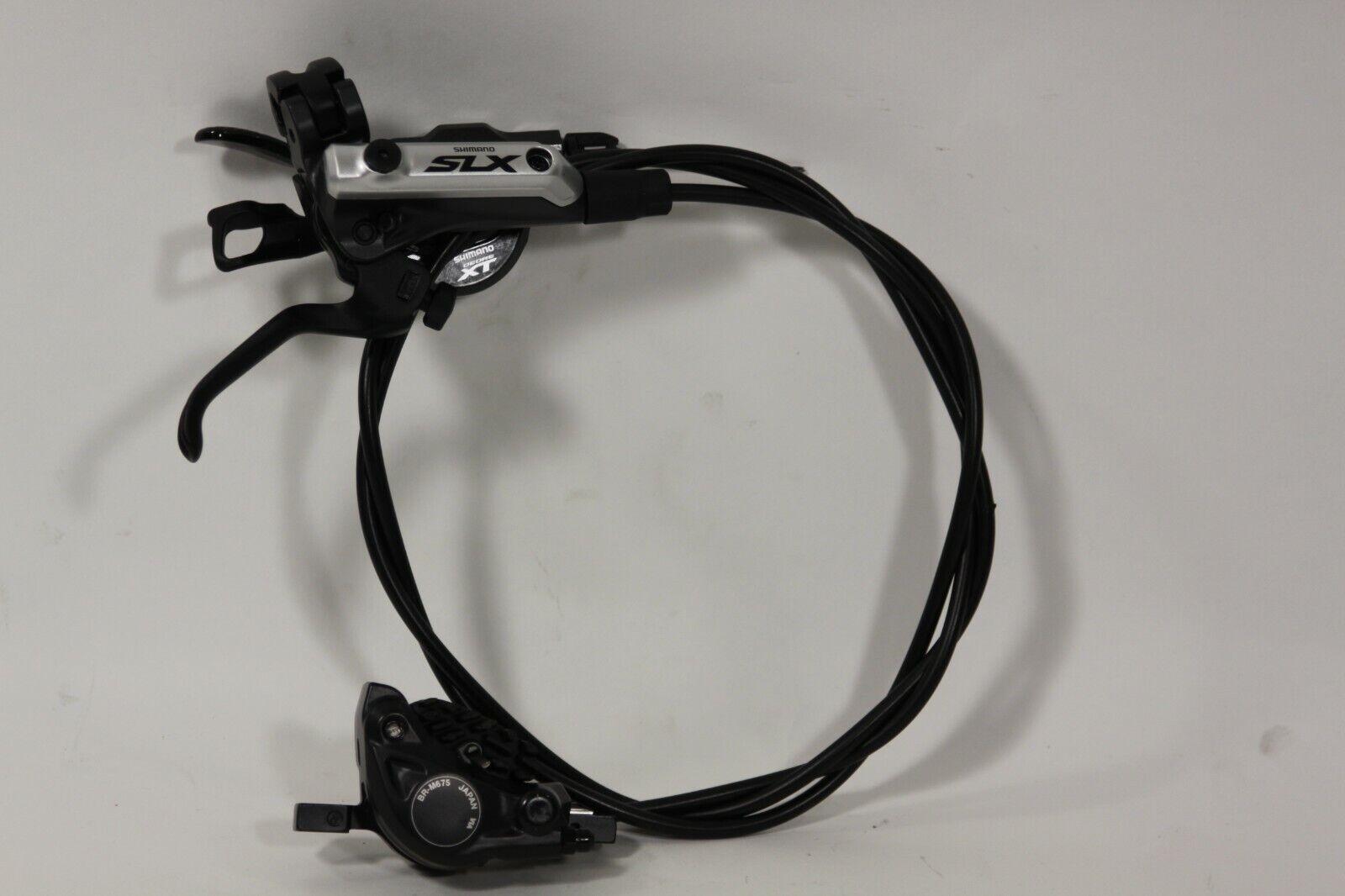 Shimano SLX BL M675-B Front Hydro Brake with XT M8000 11sp shifter