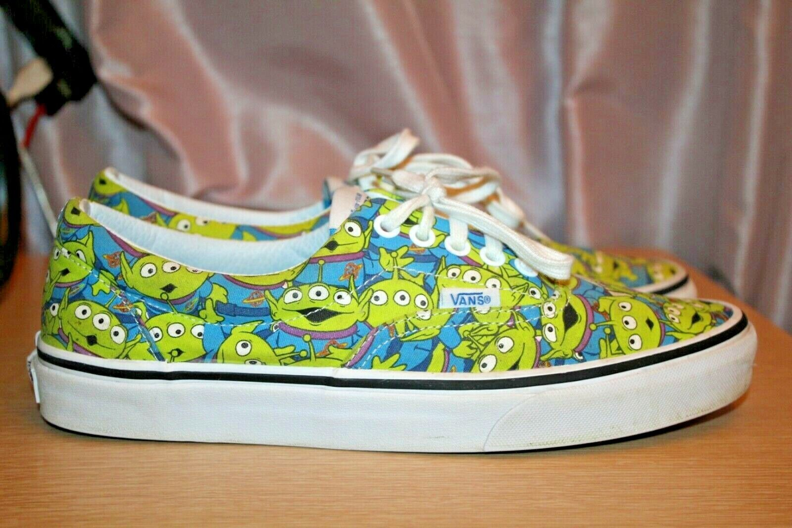 Terrible Comprimir predicción  Disney VANS Shoes SNEAKERS Mens Toy Story Aliens Glow in The Dark Size 11  for sale online | eBay
