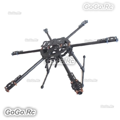 TL68B01 FY680 full-folding Hexa-copter vehicle rack pure carbon tube Drone
