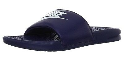 Benassi JDI slide sandals Navy NWT SALE