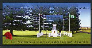 Norfolk island 2015 neuf sans charnière wwi WW1 remembering gallipoli landing 1v m-s timbres-afficher le titre d`origine rrpMDT1f-07165212-840529190