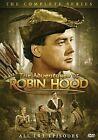 Adventures of Robin Hood Comp Series 0826831070582 DVD Region 1
