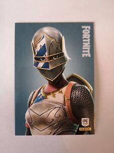 Carte-panini-FORTNITE-serie-1-Trading-card-193-ROYALE-KNIGHT-Rare