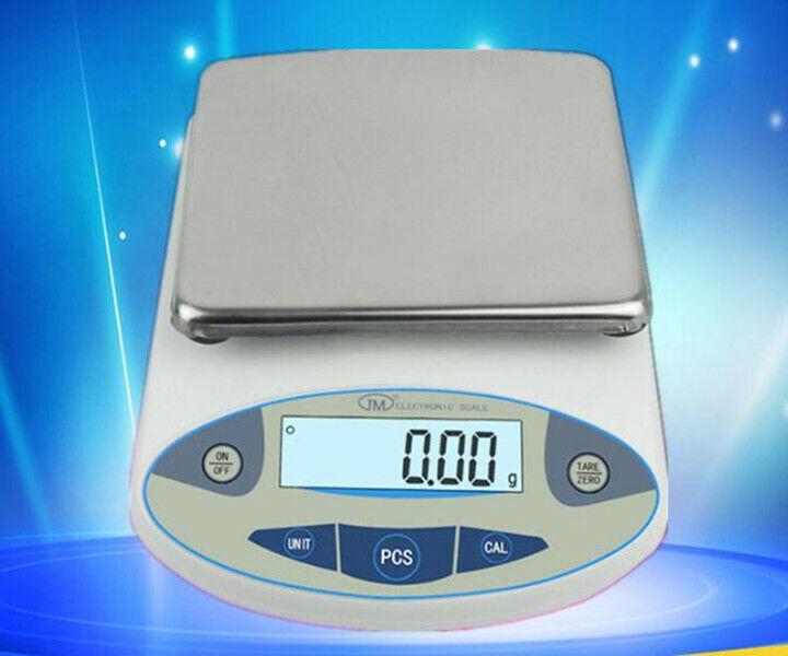Conformité Européene 5000 x 0.01 g 10 mg 5 kg d'Analyse Numérique Pesage Balance Scale Lab Jewelry