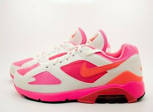 Details about Nike Air Max 180 X Comme Des Garcons CDG Pink AO4641 600 Men's Shoes Size 8