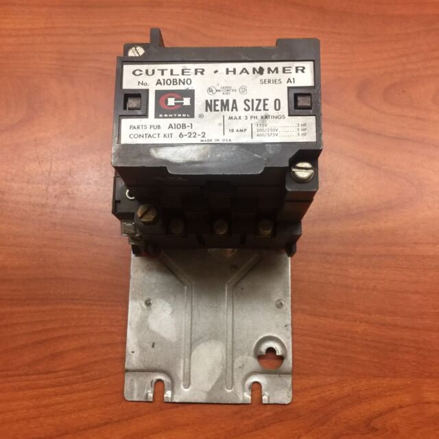 Cutler Hammer A10BNO Starter Contactor With Enclosure C799ar1 on