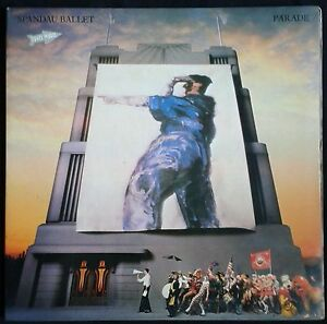 SPANDAU-BALLET-Parade-Spain-LP-Chrysalis-1984-Only-When-You-Leave-Gatefold