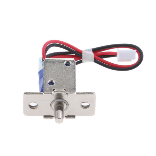 Electric Cabinet Drawer Lock Assembly Solenoid DC12V Fail Secure