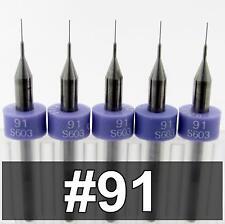 0083 91 Five Carbide Drill Bits 120 Loc Kyocera Cnc Pcb Model Hobby