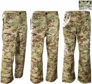 Mens-Combat-Army-Military-MOD-Style-Kom-Tex-Waterproof-Rain-Trousers-BTP-Camo