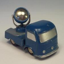 Schuco Piccolo 1/90 No.755 Mercedes Benz Searchlight Truck blau #4215