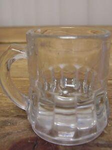 Doll-House-Dollhouse-Miniature-Glass-Stein-Rootbeer-Float-Mug-Cup-Mini-Ridges