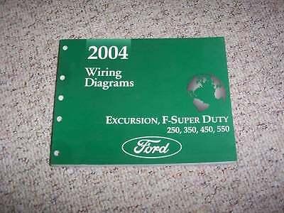 2004 Ford F-250 Electrical Wiring Diagram Manual XL XLT 6 ...