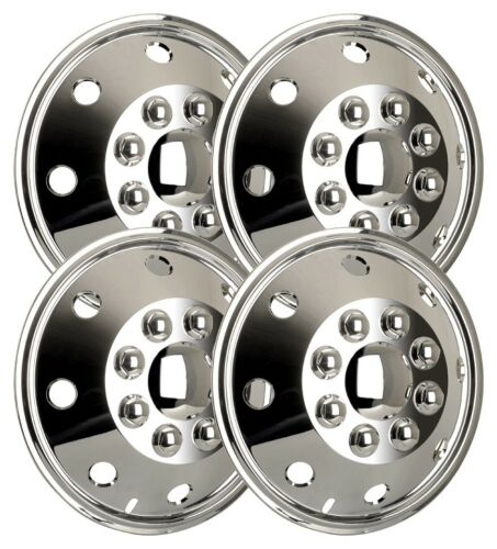 4x Radzierblenden 15 in Ford Transit Camping-car ENJOLIVEUR CHROME