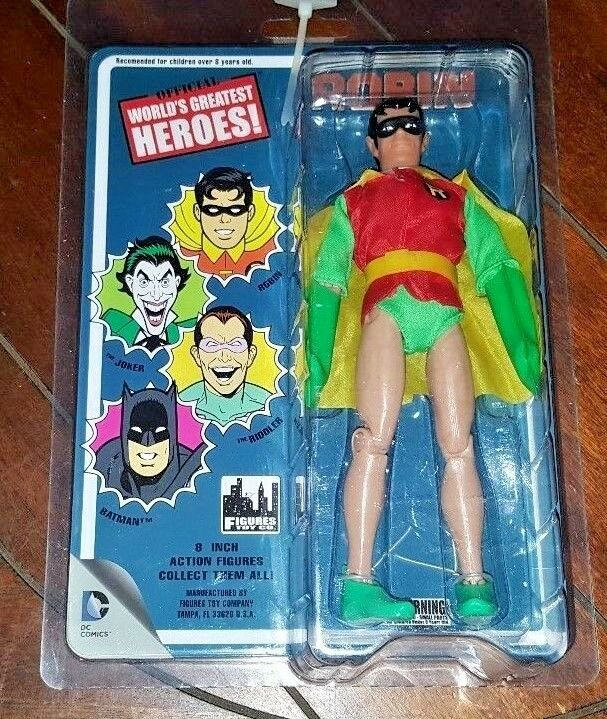 DC Comics Official World's Greatest Heroes  Series 1 ROBIN 8  Action Figure
